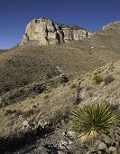 picture of guadalupe  - Guadalupe Mountains National Park is located in West Texas - JPG