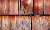 pic of shingles  - construction of roof with wood tile shingles - JPG