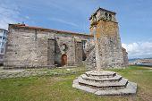 stock photo of lax  - Church in Laxe - JPG