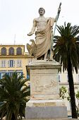 stock photo of bonaparte  - statue monument Napoleon Bonaparte Place St - JPG