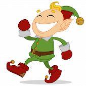 stock photo of elf  - Happy elf - JPG