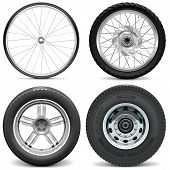 pic of motor-bus  - Wheels for bicycle - JPG