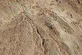 stock photo of sand gravel  - Small gravel stones texture background - JPG