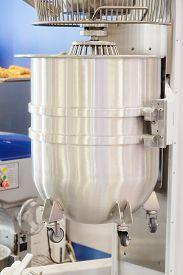 image of bakeshop  - Dough mixer in bakery - JPG