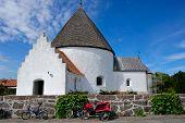 Round Church On Bornholm Island, Denmark, Europe poster