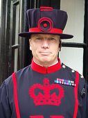 Beefeater at Tower of London, England