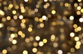 picture of reveillon  - Golden lights - JPG