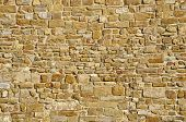 stock photo of arriere-plan  - Old stone wall - JPG