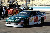 AVONDALE, AZ - NOV 7 - Dale Earnhardt Jr. (88) drives off the track and into the garage at the Phoen