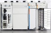 stock photo of plc  - A module of plc for industrial Plc automation - JPG