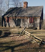 picture of revolutionary war  - Wick House Built In 1750 Was a Revolutionary War Headquarters in Morristown - JPG