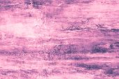 Purple Blots On A Pink Canvas. Pink Paint Stains On The Wall. Abstract Pattern Of Watercolor Style O poster