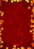 Festive Party Christmas Card Background With Stars