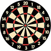 Dart Board.Eps