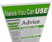 An enewsletter of advice, tips hints and helpful information sent to your email inbox