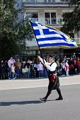Thessaloniki - 28 October: Greek National Day Parade On October 28, 2009 In Thessaloniki, Greece.