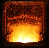 foto of blast-furnace  - Yellow  - JPG