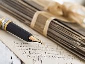 foto of scribes  - vintage memories - JPG