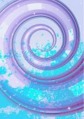 Abstract whirlpool background (no mesh)