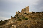 stock photo of templar  - Castillo de Xivert - JPG