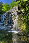 Eagle Cliff Falls, Finger Lakes, Ny