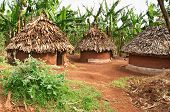 Traditional african huts