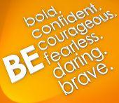 image of daring  - Be bold - JPG