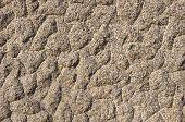 stock photo of feldspar  - The texture of the processed gray granite closeup - JPG