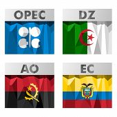 pic of algiers  - Flags of countries belonging to OPEC - JPG