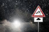 stock photo of sleet  - bad weather  - JPG
