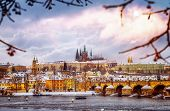 picture of winter palace  - Beautiful Prague in winter - JPG