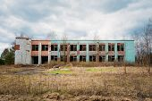 foto of nuclear disaster  - Abandoned Store Interior In Chernobyl Zone - JPG