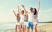 picture of waving hands  - summer - JPG