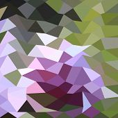 picture of pale  - Low polygon style illustration of a pale lavender abstract geometric background - JPG