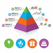 picture of food pyramid  - Pyramid chart template - JPG
