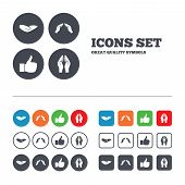 picture of jesus sign  - Hand icons - JPG