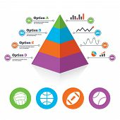 pic of pyramid shape  - Pyramid chart template - JPG