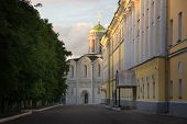 Постер, плакат: St Demetrius Cathedral 1193 1197 Vladimir Russia