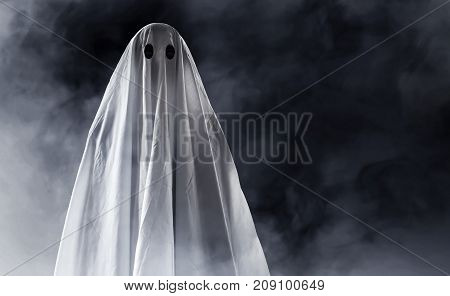 Mysterious ghost on