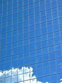 Blue Building poster