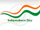 picture of asoka  - patriotic illustration for independence day - JPG