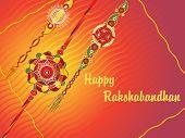picture of rakshabandhan  - creative illustration for rakshabandhan celebration - JPG