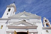 stock photo of ares  - Recoleta church dedicated to Nuestra Se - JPG
