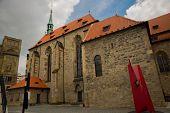 Prague, Czech Republic: Church Of St. Francis And St. Salvator poster