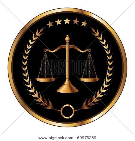 Law Or Lawyer Seal poster