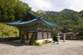 stock photo of seoraksan  - Temple in Seoraksan National Park in Southkorea - JPG
