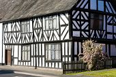half timbered house, Leominster, Herefordshire, England
