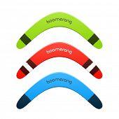 picture of boomerang  - Boomerang - JPG