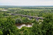 Bridge in Vladimir, Russia
