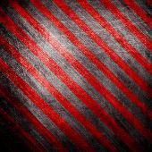 metal background with black and red stripes